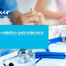 Certificado médico-psicotécnico por 25 €