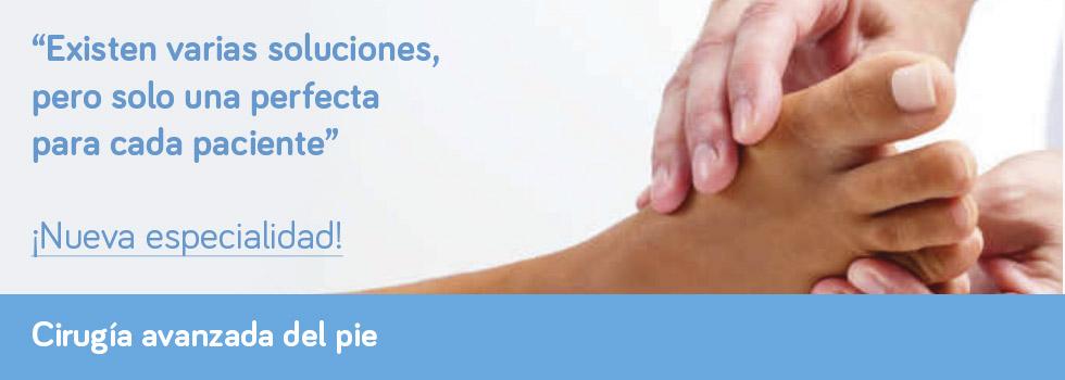 Cirugía avanzada del pie | Clinimur